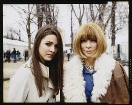 Bee Schaffer; Anna Wintour, by Anna Bauer - NPG x131792
