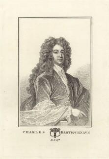 Charles Dartiquenave, possibly by Robert Cooper, after  Sir Godfrey Kneller, Bt - NPG D27512