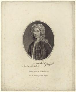 Galfridus Walpole, by Edward Harding, after  William Nelson Gardiner - NPG D27513