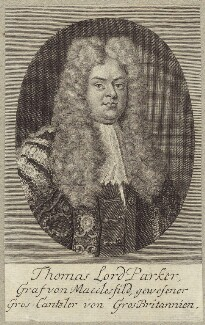Thomas Parker, 1st Earl of Macclesfield, after Unknown artist - NPG D27514