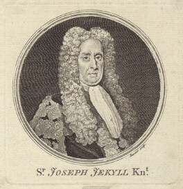 Sir Joseph Jekyll, by Simon François Ravenet, after  Michael Dahl - NPG D27518