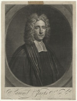 Samuel Clarke, by John Simon, after  Thomas Gibson - NPG D33306