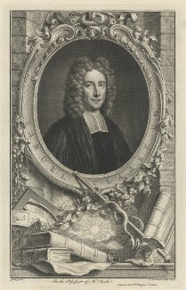 Samuel Clarke, by Jacobus Houbraken, after  Thomas Gibson, published by  John & Paul Knapton - NPG D33307