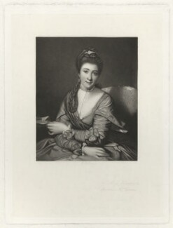 Elizabeth Catherine ('Kitty') Clarke (née Hunter), by Robert Bowyer Parkes, after  Sir Joshua Reynolds - NPG D33311