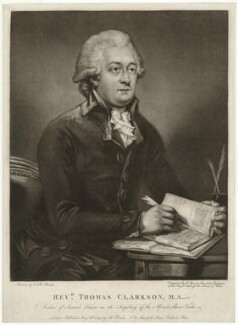 Thomas Clarkson, by John Young, after  Carl Fredrik von Breda - NPG D33312
