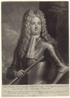 William Cadogan, 1st Earl Cadogan, by John Simon, after  Louis Laguerre, early 18th century - NPG D27525 - © National Portrait Gallery, London