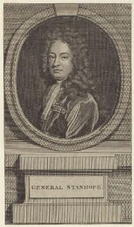 James Stanhope, 1st Earl Stanhope, after Sir Godfrey Kneller, Bt - NPG D27526