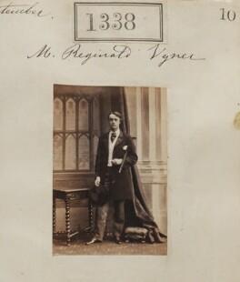 Reginald Arthur Vyner, by Camille Silvy - NPG Ax50738