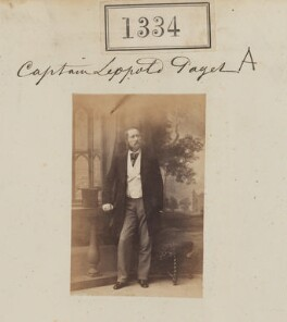 Leopold Grimston Paget, by Camille Silvy - NPG Ax50735