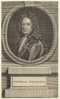 James Stanhope, 1st Earl Stanhope, after Sir Godfrey Kneller, Bt - NPG D27527
