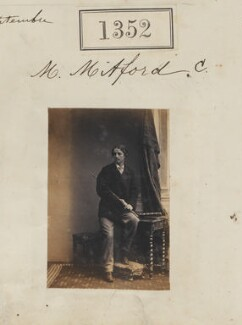 Algernon Bertram Freeman-Mitford, 1st Baron Redesdale, by Camille Silvy - NPG Ax50753