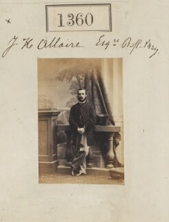 John Hillary Allaire, by Camille Silvy, 29 September 1860 - NPG Ax50761 - © National Portrait Gallery, London