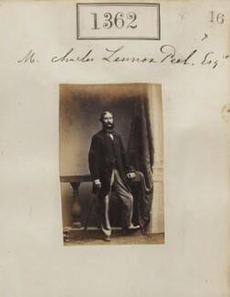 Sir Charles Lennox Peel, by Camille Silvy - NPG Ax50763