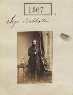 John Baptist Ciabatta, by Camille Silvy - NPG Ax50768