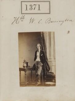 Sir William Augustus Curzon Barrington, by Camille Silvy - NPG Ax50772