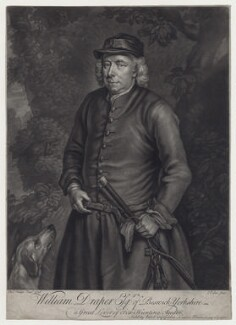 William Draper of Beswick, by and published by John Faber Jr, after  Charles Philips - NPG D27540
