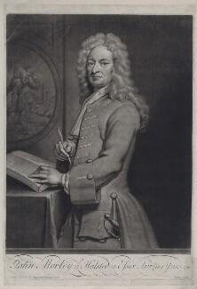 John Morley, by John Simon, after  Sir Godfrey Kneller, Bt - NPG D27547