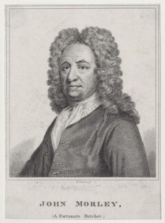 John Morley, by Robert Grave, after  Sir Godfrey Kneller, Bt - NPG D27548