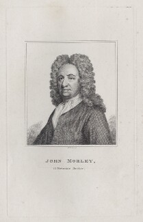 John Morley, by Robert Grave, after  Sir Godfrey Kneller, Bt - NPG D27549
