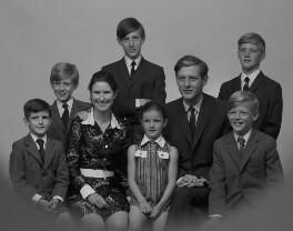 Kelly Family Group, by Bassano & Vandyk Studios, 18 July 1969 - NPG x174640 - © National Portrait Gallery, London