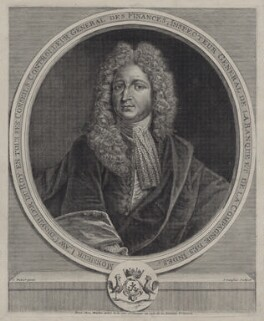 John Law, by Jean Langlois, after  Jean Hubert - NPG D27555