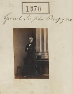 Sir John Fox Burgoyne, 1st Bt, by Camille Silvy - NPG Ax50777