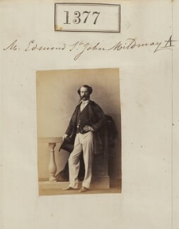 Edmond Henry St John Mildmay, by Camille Silvy - NPG Ax50778