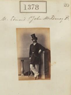 Edmond Henry St John Mildmay, by Camille Silvy - NPG Ax50779