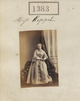 Georgiana Gertrude Maria Keppel, by Camille Silvy - NPG Ax50784
