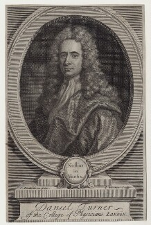 Daniel Turner, by George Vertue, after  Jonathan Richardson - NPG D27560