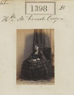 Augusta Latham Curzon (née Halifax), by Camille Silvy - NPG Ax50799