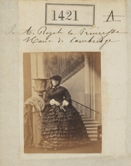 Princess Mary Adelaide, Duchess of Teck, by Camille Silvy - NPG Ax50822