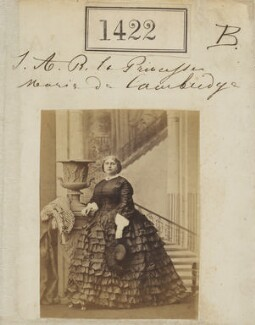Princess Mary Adelaide, Duchess of Teck, by Camille Silvy - NPG Ax50823
