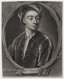Alexander Pope, published by John Bowles, mid 18th century - NPG D27565 - © National Portrait Gallery, London