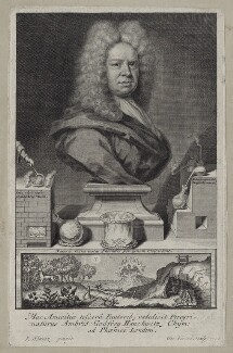 Ambrose Godfrey the Elder, by George Vertue, after  Johann Rudolph Schmutz - NPG D27566