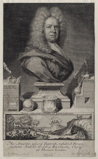 Ambrose Godfrey the Elder, by George Vertue, after  Johann Rudolph Schmutz - NPG D27567