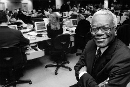 Sir Trevor McDonald, by Carolyn Djanogly - NPG x88342