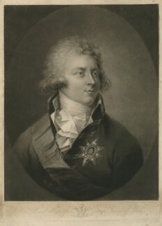 King George IV, by Samuel William Reynolds, published by  John Brydon, after  Simon de Koster - NPG D33330