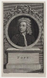 Alexander Pope, by James Caldwall, after  Charles Jervas - NPG D27569