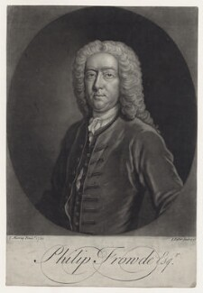 Philip Frowde, by John Faber Jr, after  Thomas Murray - NPG D27581