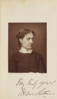 Marie Litton (Maria Lowe), probably by Lock & Whitfield, published by  Wyman & Sons - NPG Ax28269