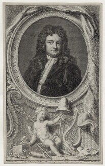 Sir Richard Steele, by Jacobus Houbraken, published by  John & Paul Knapton, after  Sir Godfrey Kneller, Bt, published 1748 - NPG D27587 - © National Portrait Gallery, London