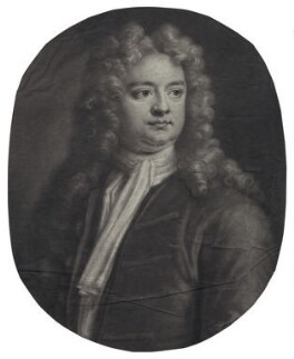Sir Richard Steele, by and sold by John Smith, after  Jonathan Richardson, 1713 (1712) - NPG D27589 - © National Portrait Gallery, London