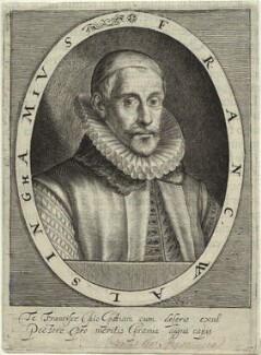 Sir Francis Walsingham, by Magdalena de Passe, by  Willem de Passe - NPG D33368