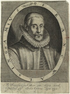 Sir Francis Walsingham, by Magdalena de Passe, by  Willem de Passe - NPG D33369
