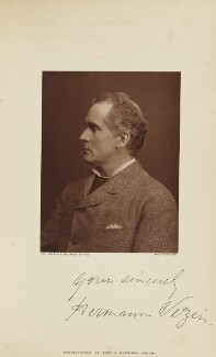 Hermann Vezin, by Lock & Whitfield, published by  Wyman & Sons, published 1 November 1878 - NPG Ax28273 - © National Portrait Gallery, London
