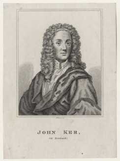 John Ker, by Robert Grave, after  Hammond - NPG D27592