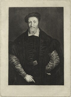 Sir Thomas Chaloner, by L. Picard, after  Unknown artist - NPG D33373