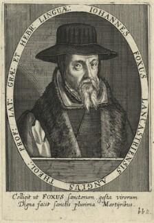 John Foxe, by Sebastian Furck - NPG D33375