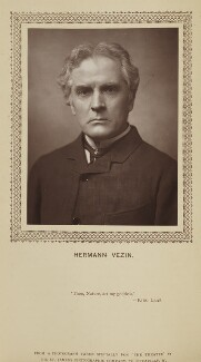 Hermann Vezin, by St James's Photographic Co, published by  David Bogue - NPG Ax9274